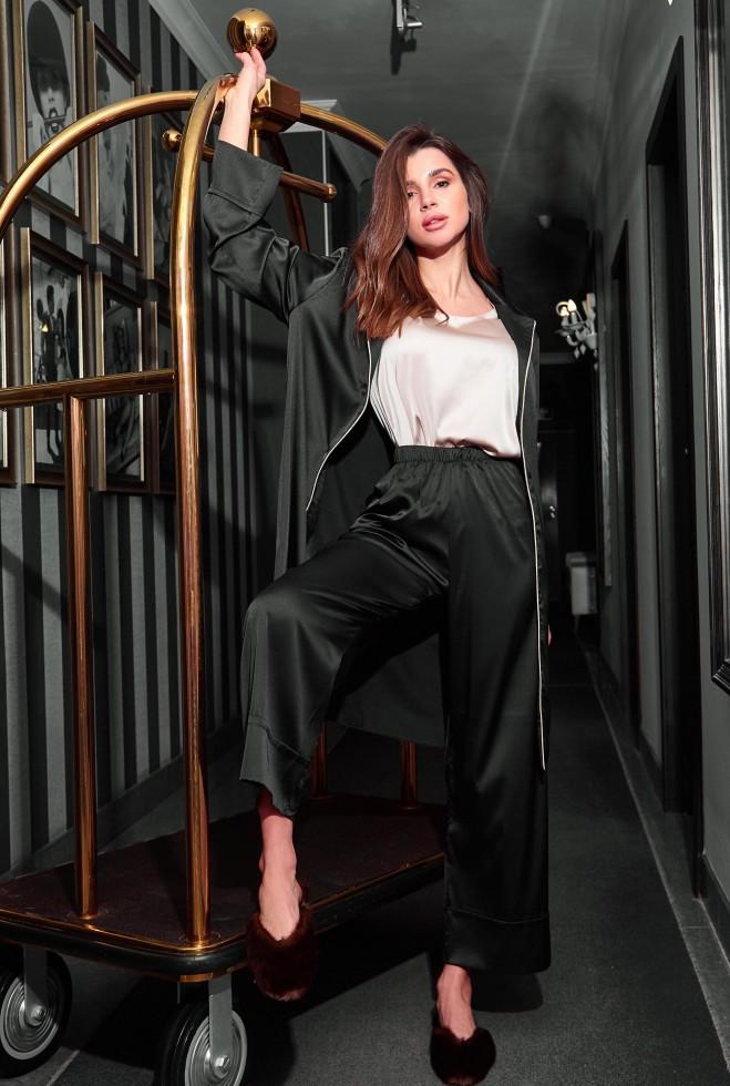 Пижама Бонна черный Жадон