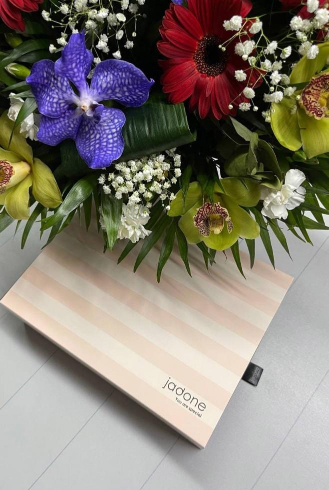 Подарочная упаковка розовый Жадон