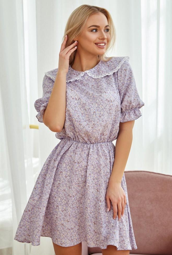 Платье Лада сиреневый Жадон