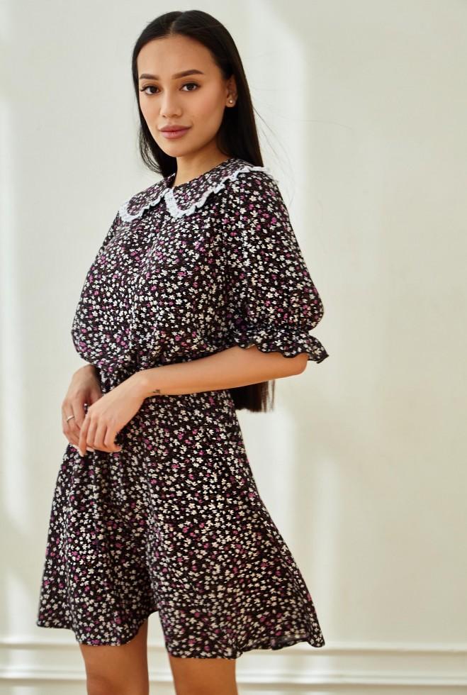 Платье Лада черный Жадон