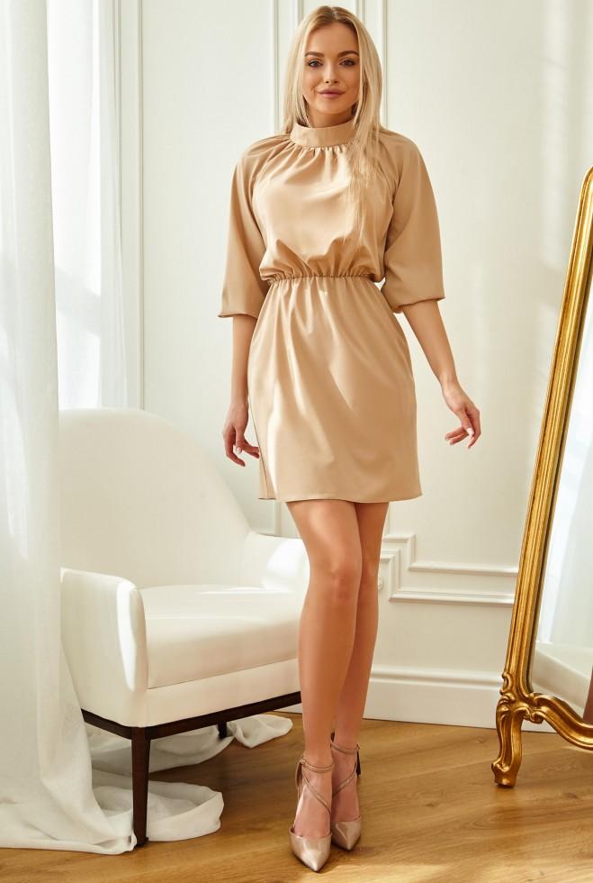 Платье Сим бежевый Жадон