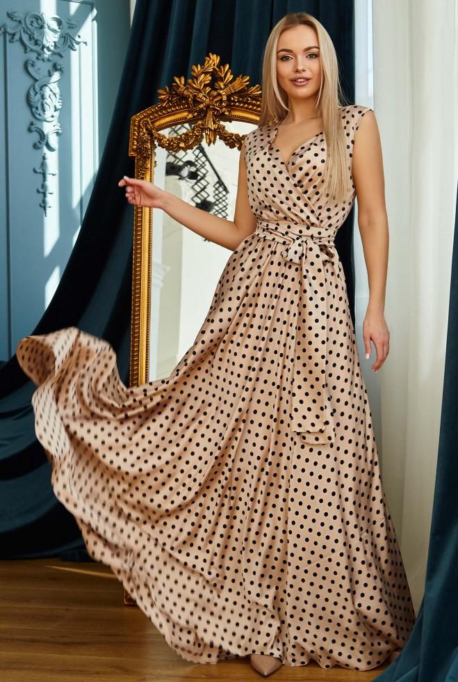 Платье Таис золото Жадон