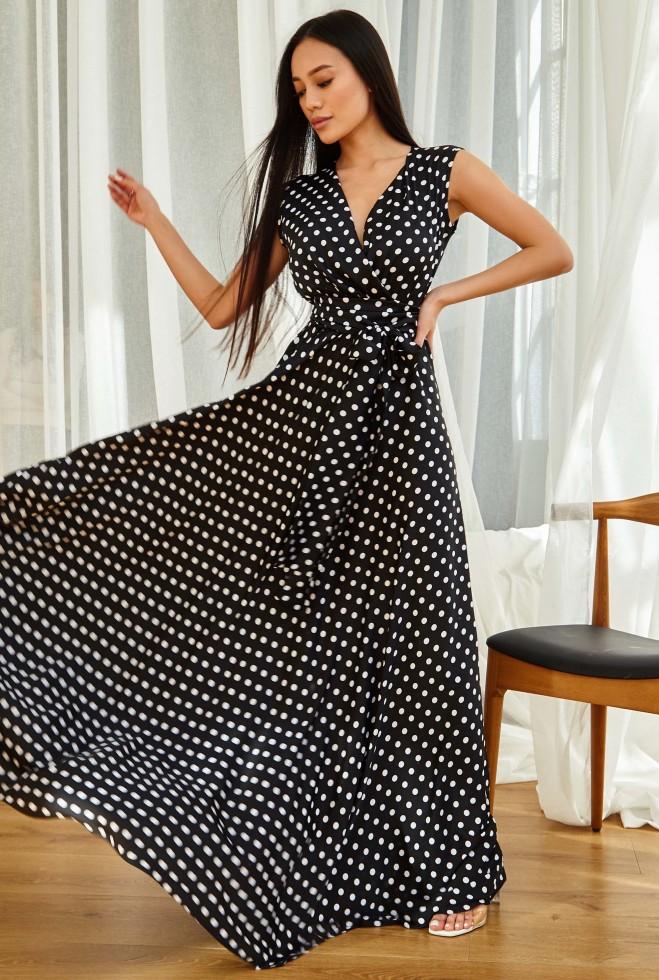 Платье Таис черный Жадон