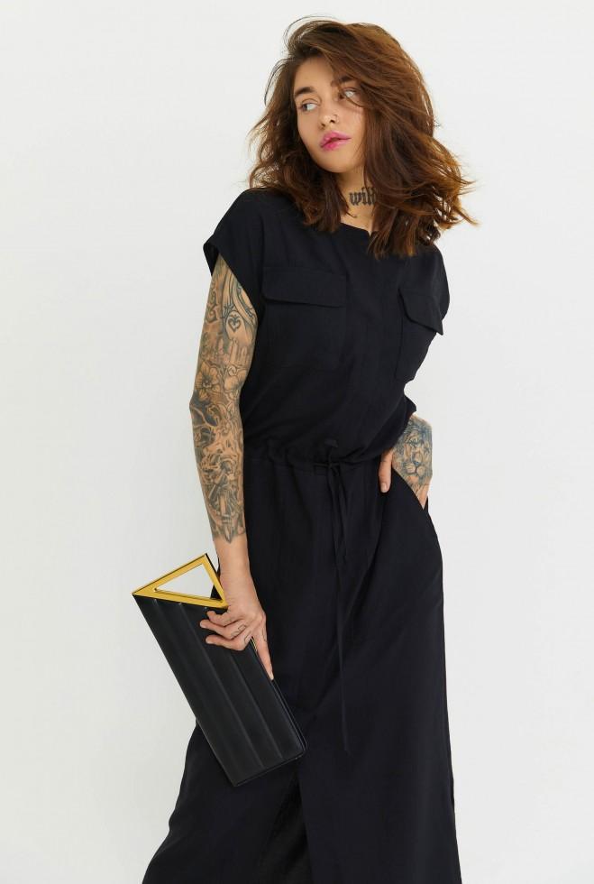 Платье Малика черный Жадон