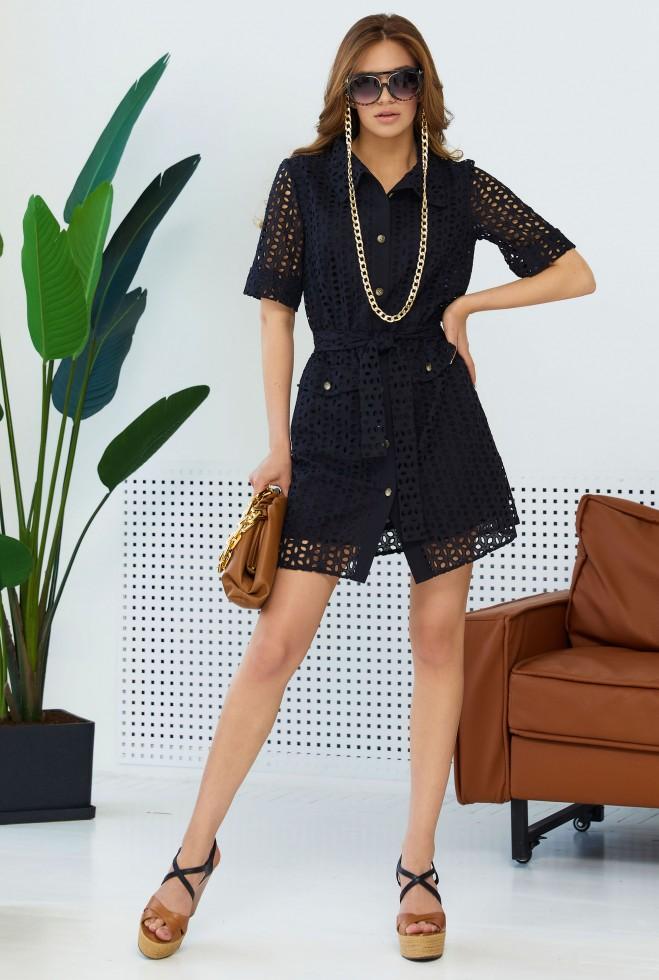 Платье Рисса черный Жадон
