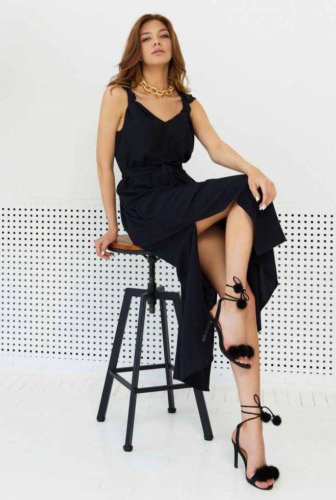 Платье Джаффа черный Жадон
