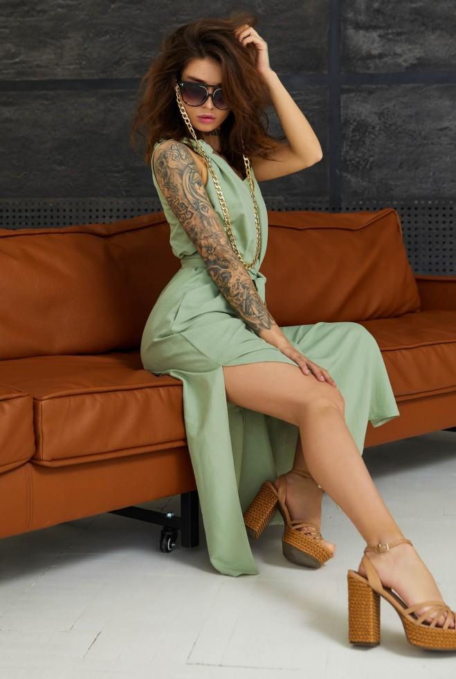 Платье Джаффа оливка Жадон