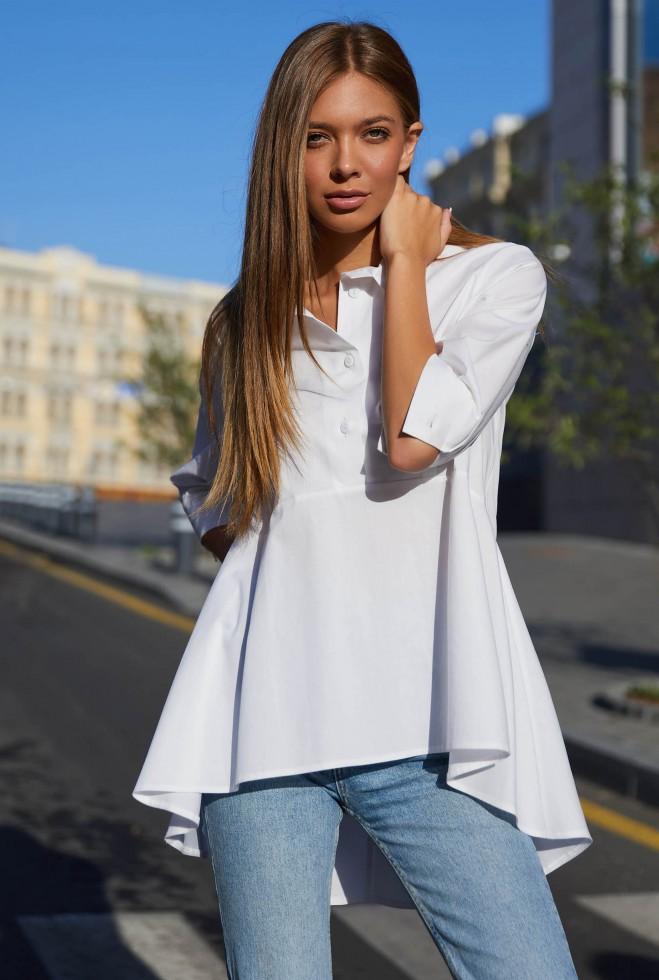 Рубашка Квелли белый Жадон