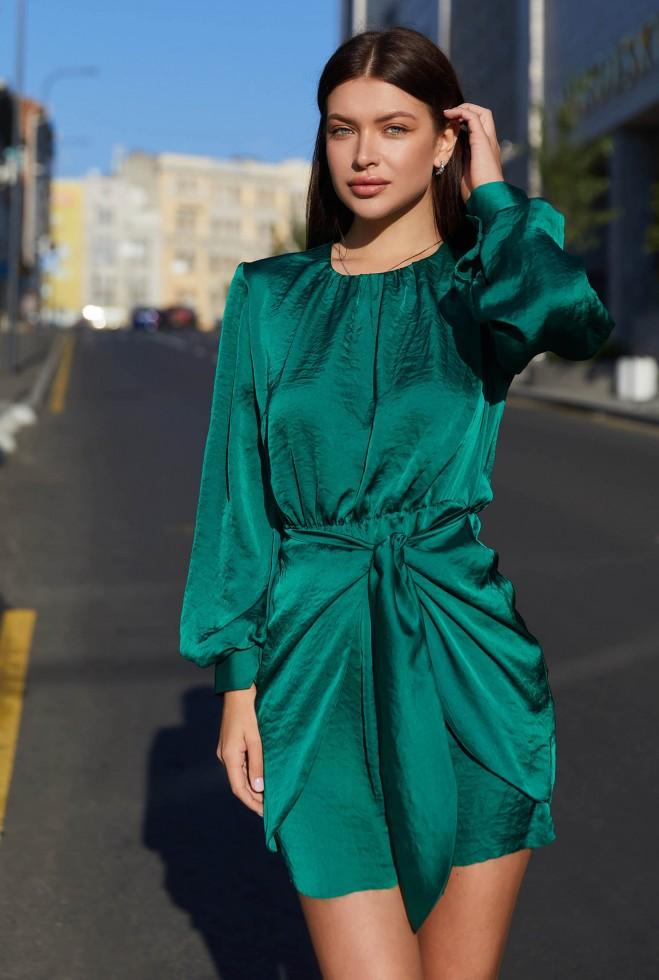 Платье Мири зеленый Жадон