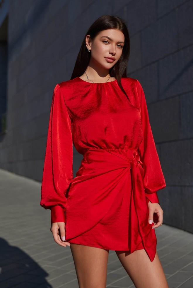 Платье Мири красный Жадон