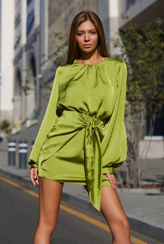 Платье Мири фисташка Жадон