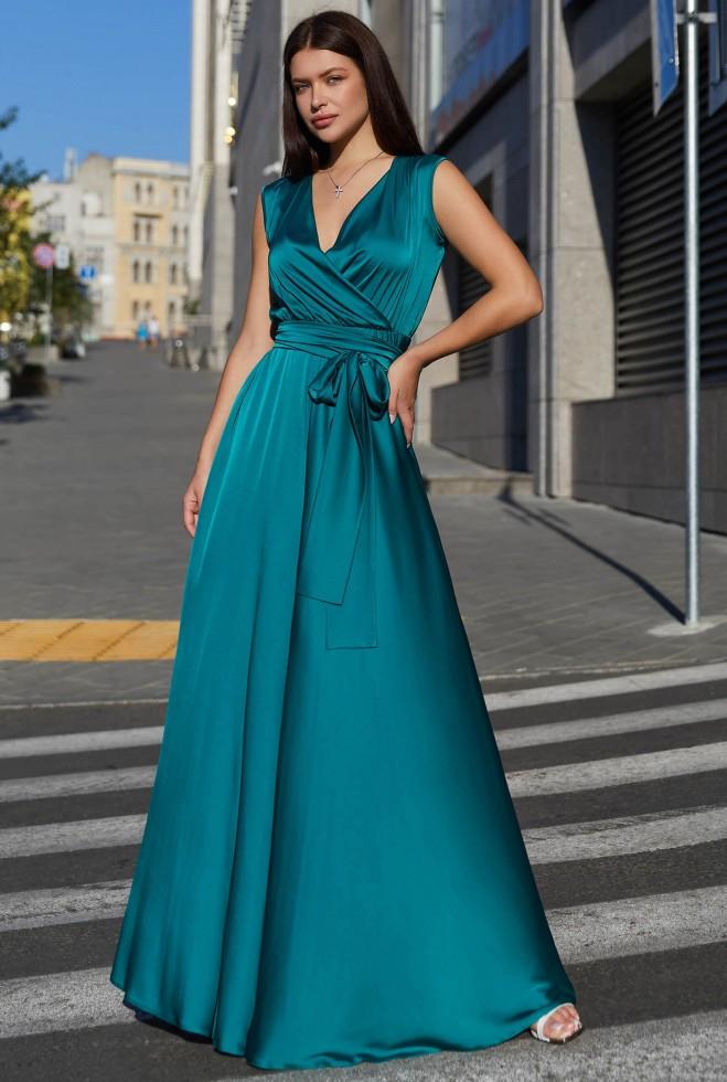 Платье Фурор зеленый Жадон