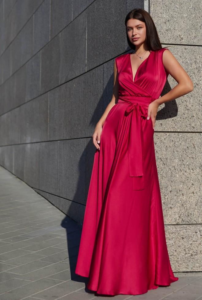 Платье Фурор красный Жадон