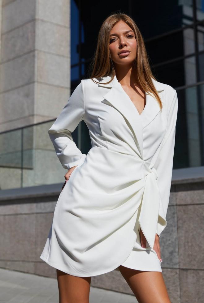 Платье Гермиона белый Жадон