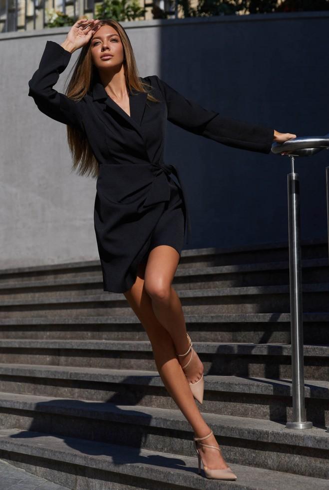 Платье Гермиона черный Жадон