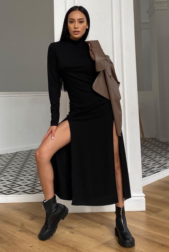 Платье Рената черный