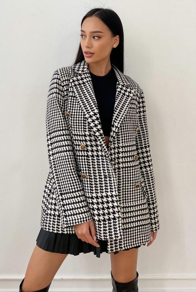 Пиджак на подкладке Версаль черный Жадон