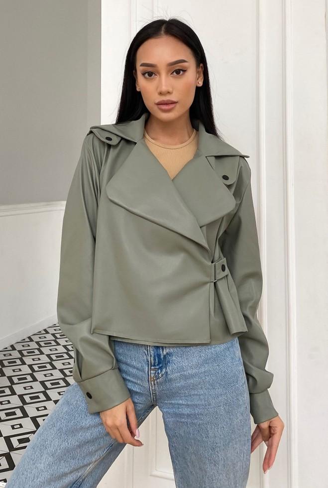 Куртка Дейт с подкладкой оливка Жадон