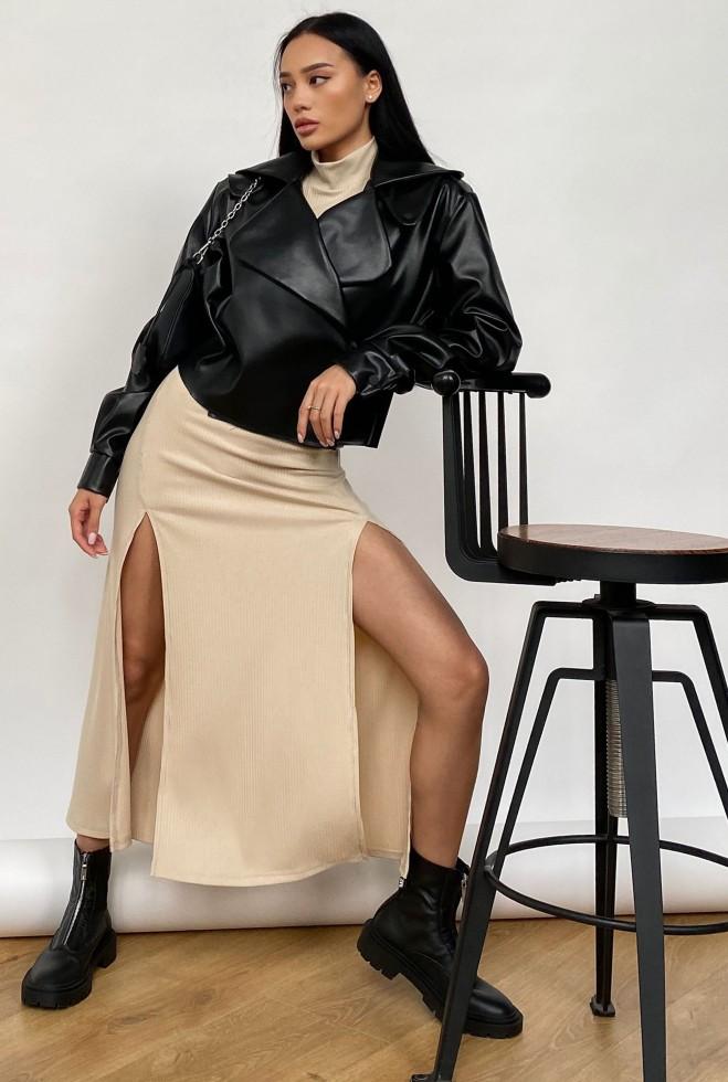 Куртка Дейт с подкладкой черный Жадон