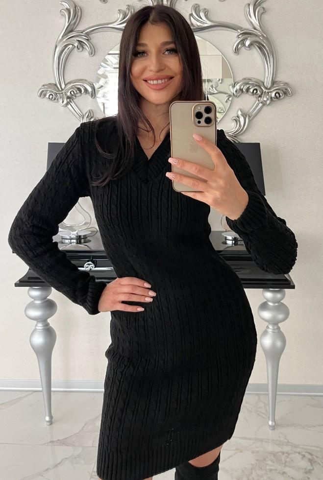 Платье Сьера черный Жадон