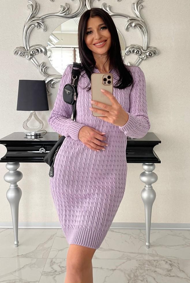 Платье Сьера сиреневый Жадон