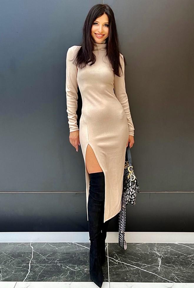 Платье Саяна бежевый Жадон