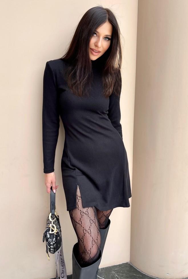Платье Сана черный Жадон
