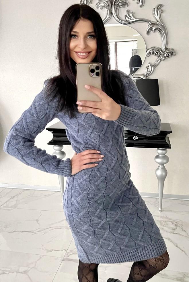 Платье Эллария джинс Жадон
