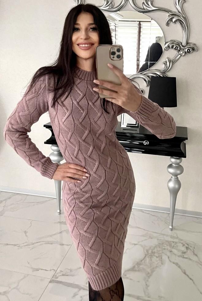 Платье Эллария пудра Жадон