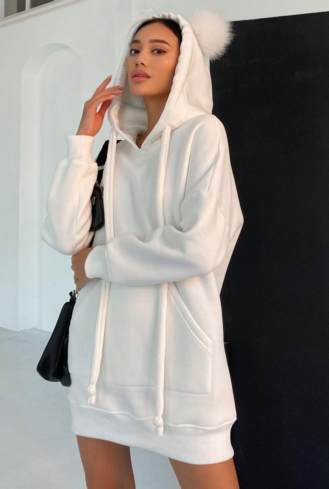 Платье-туника Дженни белый Жадон