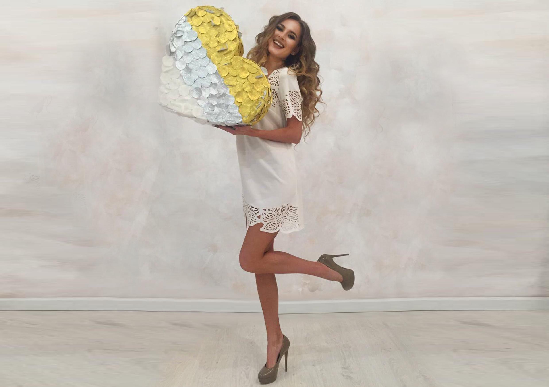 Диана Гаркуша в новой коллекции ко Дню святого Валентина