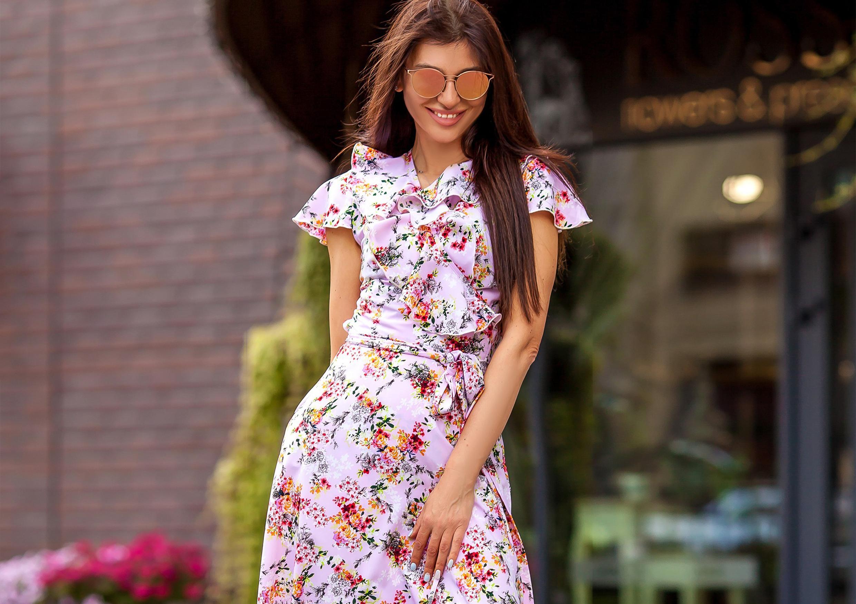 Чайное платье - женственная тенденция лета 2018