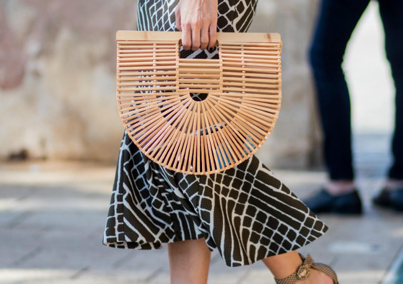 Соломенные сумки - тренд 2019 года