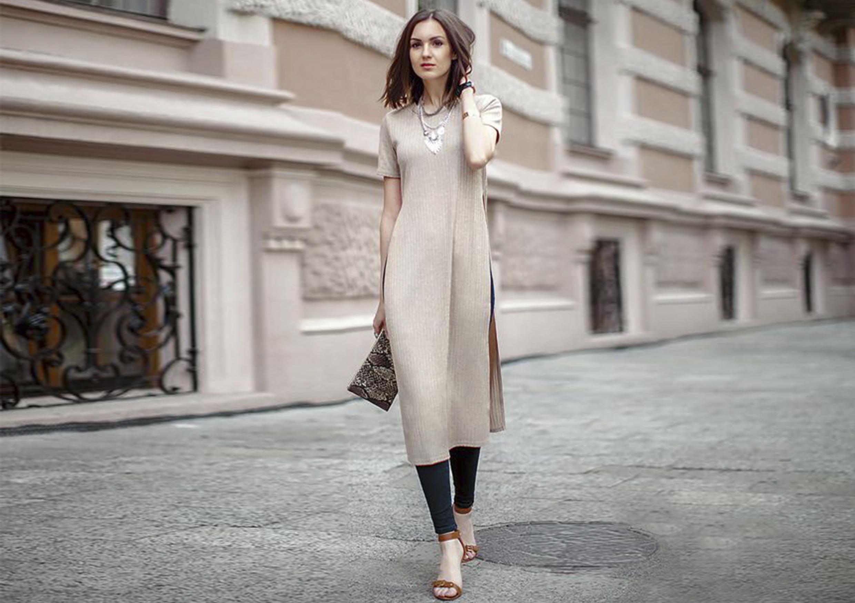Платье и брюки — самое модное сочетание весны