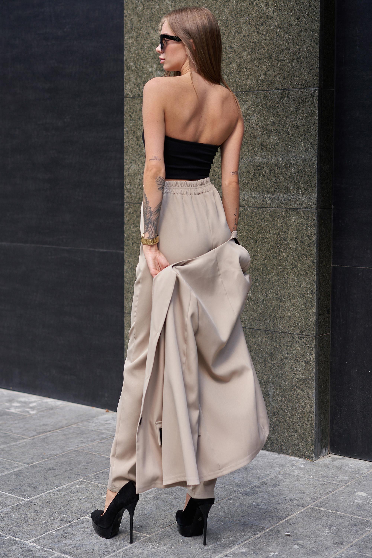Выкройка брючного костюма женского 48 размера сатин купить ткань розница